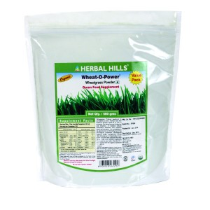 Buy Herbal Herbal Hills Wheat-O-Power 500 Gm (Value Pack) Powder - Nykaa