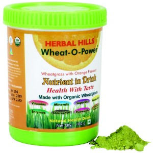 Buy Herbal Hills Wheat-O-Power Orange Flavour - Nykaa