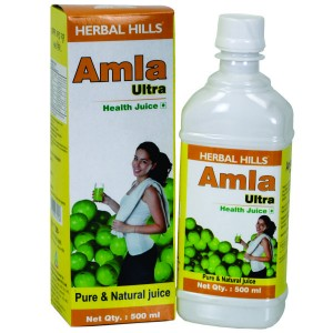 Buy Herbal Herbal Hills Amla Ultra Juice - Nykaa