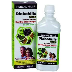 Buy Herbal Herbal Hills Diabohills - Karela Jamun - ULTRA - Nykaa