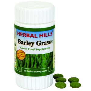 Buy Herbal Hills Barley Grass Tablets - Nykaa