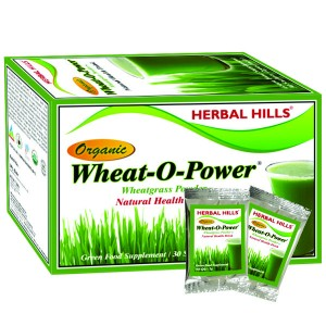 Buy Herbal Hills Wheat-O-Power 2g X 30 Sachets Powder - Nykaa