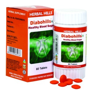 Buy Herbal Hills Diabohills Tablets - Nykaa