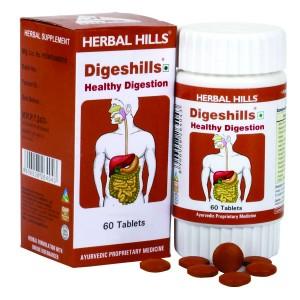 Buy Herbal Herbal Hills Digeshills Tablets - Nykaa