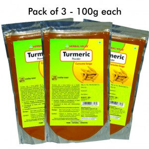 Buy Herbal Herbal Hills Turmeric Powder - Nykaa