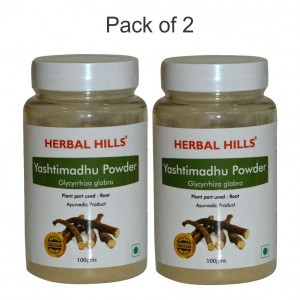 Buy Herbal Hills Yashtimadhu Powder - Nykaa