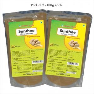 Buy Herbal Hills Sunthee - Ginger Powder - Nykaa