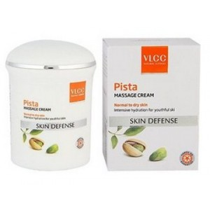 Buy VLCC Pista Massage Cream (Normal to Dry Skin) - Nykaa