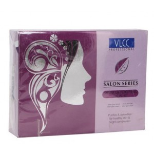 Buy VLCC Professional Salon Series Silver Detoxifying Facial Kit - Nykaa
