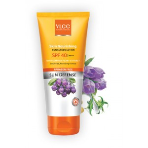 Buy VLCC Natural Sciences Sweat Free Sun Block Lotion SPF 40 - Nykaa