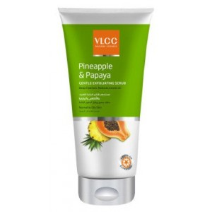 Buy VLCC Pineapple & Papaya Gentle Exfoliating Scrub - Nykaa