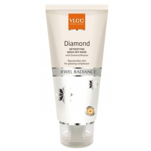 Buy VLCC Diamond Detoxifying Jewel Radiance Wash Off Mask - Nykaa
