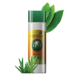 Buy Biotique Bio Aloe Vera Sunscreen Ultra Soothing Body Lotion SPF 75 - Nykaa