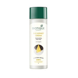 Buy Biotique Bio Honey Cream Honey Rejuvenating Body Wash - Nykaa