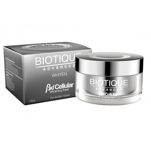 Buy Biotique Advanced Whiten BXL Cellular Protein Whitening Pack - Nykaa
