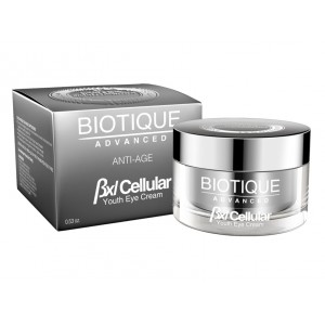 Buy Biotique Advanced BXL Cellular Almond Youth Eye Cream - Nykaa