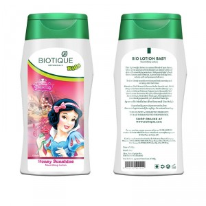 Buy Biotique Disney Baby Girl Bio Honey Sunshine Nourishing Lotion - Nykaa