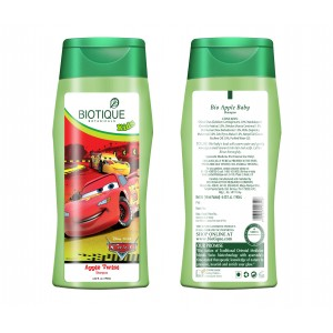 Buy Herbal Biotique Disney Baby Boy Bio Apple Twist Shampoo - Nykaa