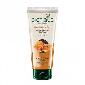 Buy Biotique Bio Honey Gel Refreshing Foaming Face Wash - Nykaa