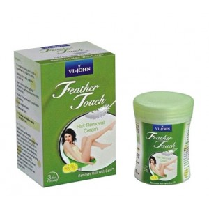 Buy VI-John Feather Touch Hair Removal Cream Lime - Nykaa