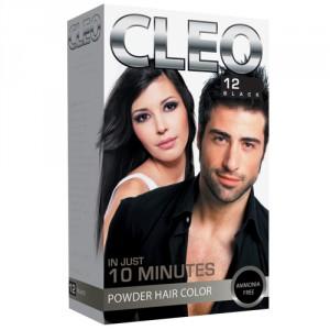 Buy Cleo Powder Hair Color - Black 12 - Nykaa
