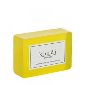 Buy Herbal Khadi Natural Lemon Soap - Nykaa