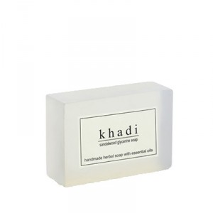Buy Herbal Khadi Natural Sandalwood Soap - Nykaa