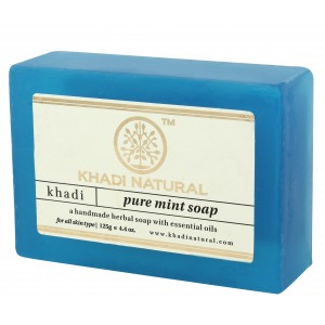 Buy Khadi Natural Pure Mint Soap - Nykaa