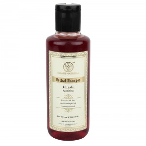 Buy Khadi Natural Satritha Herbal Shampoo - Nykaa