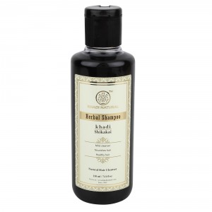 Buy Khadi Natural Shikakai Herbal Shampoo - Nykaa