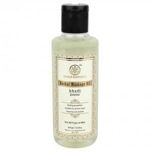 Buy Khadi Natural Jasmine Herbal Massage Oil - Nykaa
