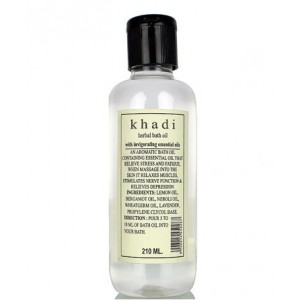 Buy Herbal Khadi Natural Bath Oil With Invigorating Essential Oil - Nykaa