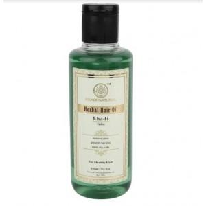 Buy Khadi Natural Tulsi Herbal Hair Oil - Nykaa