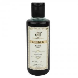 Buy Khadi Natural Trifala Herbal Hair Oil - Nykaa