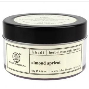 Buy Khadi Natural Almond & Apricot Massage Cream - Nykaa