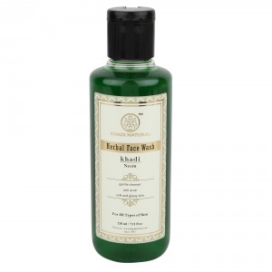 Buy Khadi Natural Neem Herbal Face Wash - Nykaa