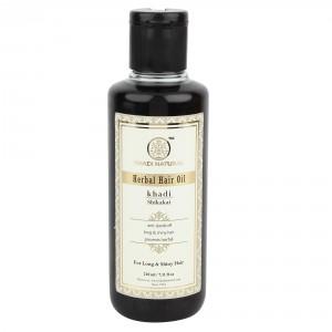 Buy Khadi Natural Shikakai Herbal Hair Oil - Nykaa