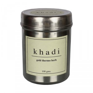Buy Khadi Gold Thermo Herbal Face Pack - Nykaa