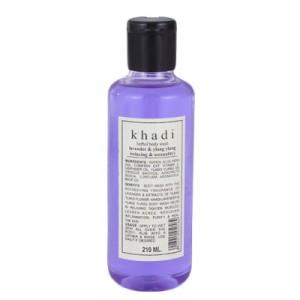 Buy Khadi Natural Lavender Ylang Ylang Body Wash - Nykaa