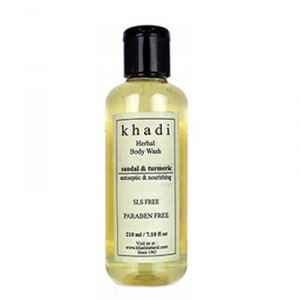 Buy Khadi Natural Sandal & Turmeric Body Wash - Nykaa