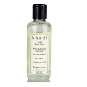 Buy Herbal Khadi Natural Neem & Teatree Face Wash - Nykaa
