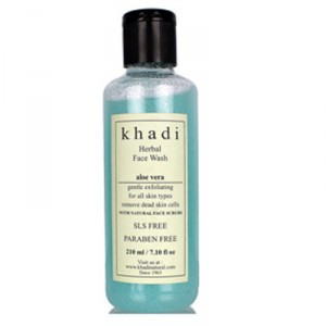 Buy Khadi Natural Aloe Vera Face Wash With Scrub - Nykaa
