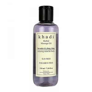 Buy Khadi Natural Lavender Ylang Ylang Massage Oil - Nykaa