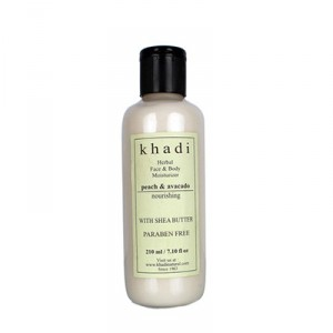 Buy Khadi Natural Peach Avacado Moisturizer - Nykaa