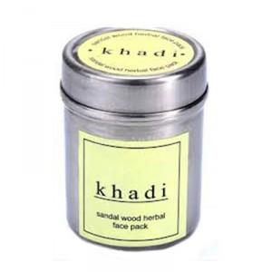 Buy Khadi Natural Sandal & Almond Face Pack - Nykaa