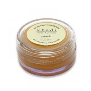 Buy Herbal Khadi Natural Herbal Lip Balm Peach - Nykaa
