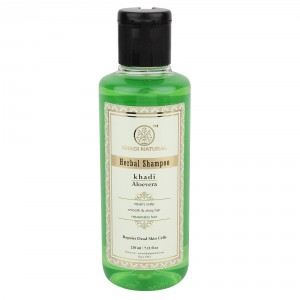 Buy Khadi Natural Aloevera Herbal Shampoo - Nykaa