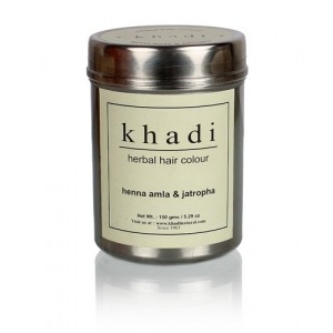 Buy Khadi Natural Hair Colour Henna Amla & Jatropha - Nykaa