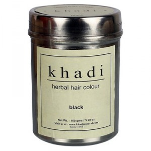 Buy Khadi Natural Black Hair Colour - Nykaa