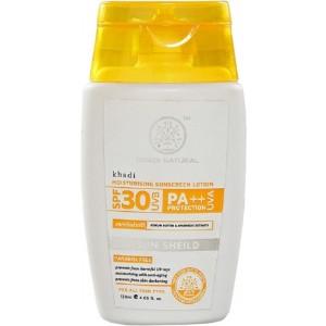 Buy Khadi Natural Moisturising Sunscreen Lotion SPF 30 UVB PA++ - Nykaa